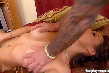 Barry Scott gets sucked by busty Layla Rivera