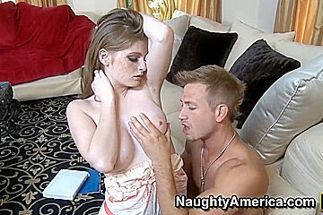 Hot Faye Reagan makes her tutor to give her lessons of human anatomy