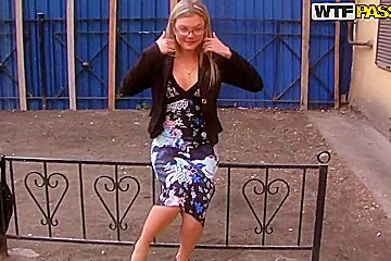 Ivanka always wears glasses when swallows rods