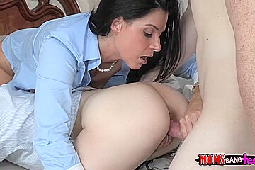 Girlfriend and her mom bang me