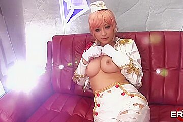 Cosplay with Japanese Hottie