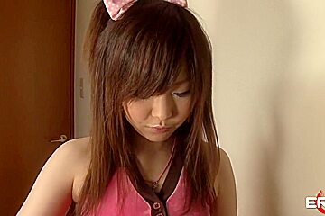 image Miku airi deals several cocks in each of her holes