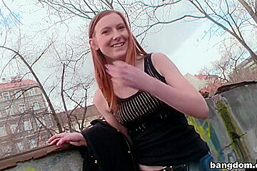 European Redhead Swallows Cum After...