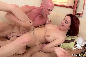 Ashley Graham can't get off of Johnny Sins' dong