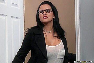 John Strong fucks his hot and sexy secretaries by rotation