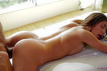 August Ames. Full Body Rub Down - Passion HD