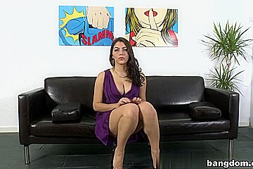 Valentina Nappi in Her First Sex Scene On Cam!