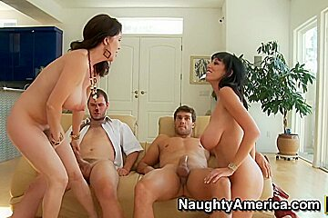 Alia Janine & Rayveness & Ralph Long & Ramon Nomar in Seduced by a Cougar