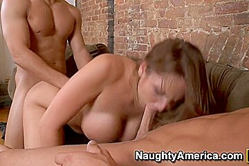 Alanah Rae & Mikey Butders & Seth Gamble in Naughty Rich Girls