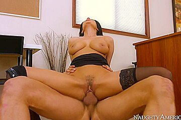 Anissa Kate & Danny Mountain in Naughty Office