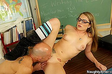 Bailey Blue & Barry Scott in Naughty Book Worms