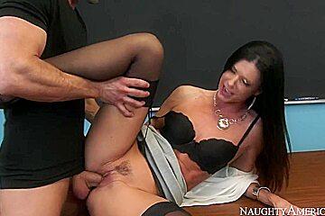 India Summer & Johnny Sins in My First Sex Teacher / Upornia.com