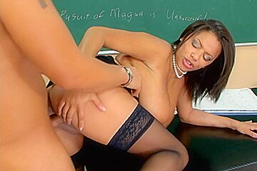 Alexis Silver & Rocco Reed in My First Sex Teacher