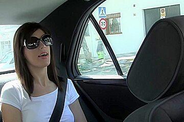 Carol Vega in outdoor sex vid showing carla having sex