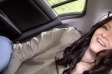 Selena in two guys fuck lina in an outdoor sex video