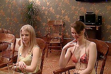 Anika & Mancy & Marika & Marya in sexy students adore making nasty group sex videos
