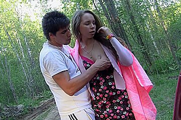 Albina & Ava & Taylor & Zoe in young petite porn in nature with a sexy student girl