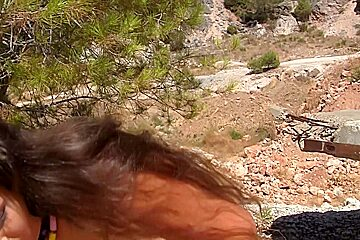 Agnessa & Carol Vega & Leila in group sex action in nature with hot college chicks