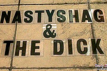 Busty Nastyshag Takes Black Cock