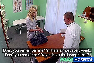 FakeHospital Sales rep caught on camera using pussy