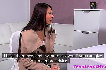FemaleAgent Amazing Asian has the best breasts