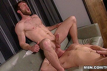 Colby Keller & Connor Maguire in Look What The Boys Dragged In Scene