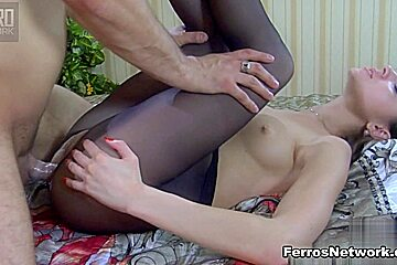 PantyhoseLine Video: Gina Gerson and Frederic