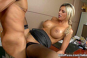 Klarisa Leone in Sexy Secretary With Sexual Favors
