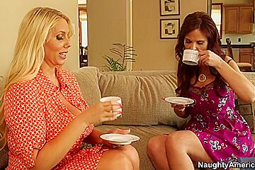 Karen Fisher & Syren De Mer & Bill Bailey in My Friends Hot Mom