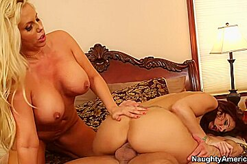 Karen Fisher & Syren De Mer & Bill Bailey in My Friends Hot Mom
