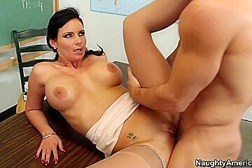 Phoenix Marie & Johnny Castle in My First Sex Teacher