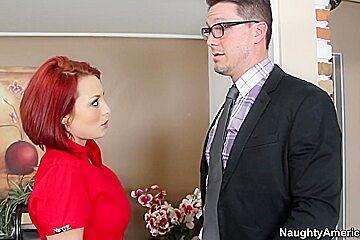 Jessica Robbin & Aaron Wilcoxxx in Naughty Office