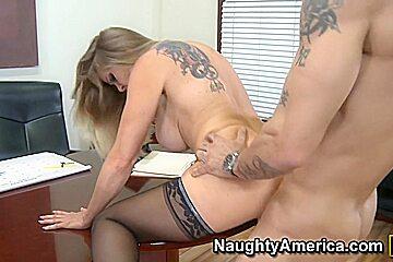 Dyanna Lauren & Alan Stafford in My First Sex Teacher