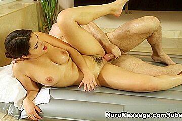 Valentina Nappi, John Strong in Wet Dream Scene