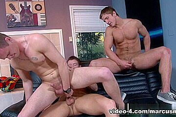 Marcus Mojo & Kevin Crows & Joey Hard in Snakebite XXX Video