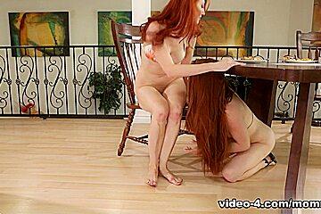 Kendra James & Veronica Vain in Almost Caught Video