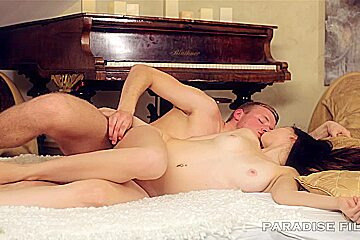 Natural Russian Teen Anal Massage