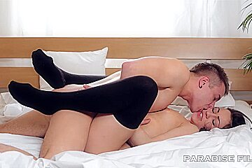 18 Gorgeous natural Russian Creampied