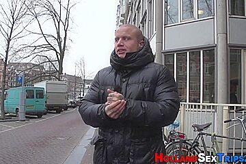 Dutch prostitute licking