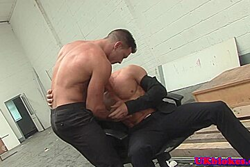 Paddy O Brian assfucking Marco Sessions