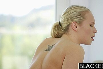 BLACKED Monster Black Cock Creampies Dakota James