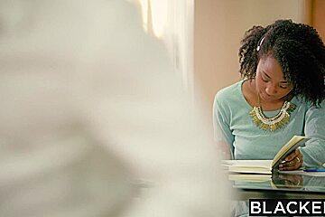 BLACKED Riley Reid Tries Huge Black Cock In Her Ass