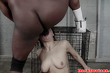 Interracial cocksucker throated till gagging