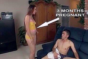 Pregnant Christina Gets Sex