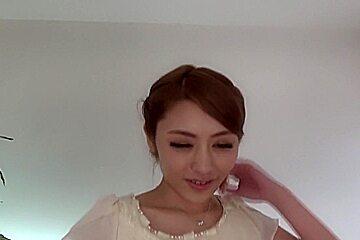Incredible Japanese chick Ayu Sakurai in Horny couple, handjobs JAV clip