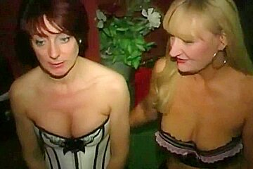 Dirty English floozy - Bukkake party 05