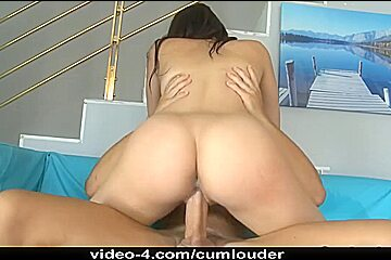 Breasty italian Playgirl screwed by a hard large rod