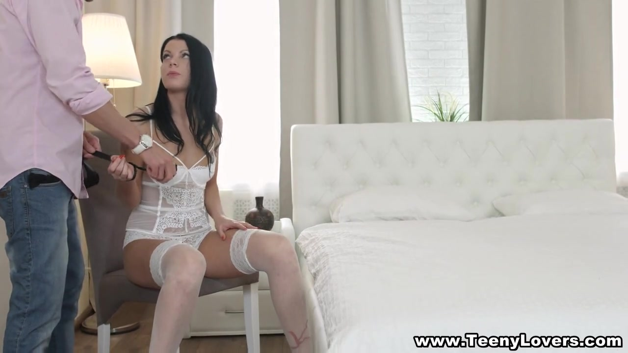 guy white Black fucked by girl