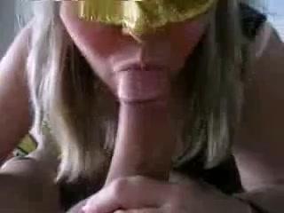 Busty slut sucking my Italian hammer